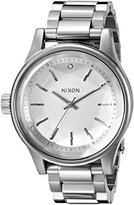 Nixon Women's A4091920 Facet 38 Analog Display Japanese Quartz Silver Watch