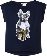 Little Marc Jacobs Prints Tee Shirt - Dark Indigo - 3A
