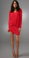 L.a.m.b. Dolman Dress with Zipper