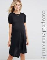 Asos PETITE Swing Dress With Short Sleeve