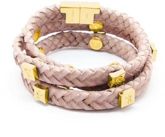 Brio Tissuville Bracelet Powder Pink Gold
