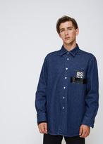 Raf Simons Dark Navy Denim Shirt