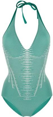 Wolford Serena halterneck swimsuit