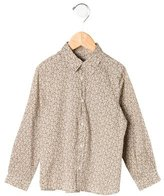 Bonpoint Boys' Floral Button-Up Shirt