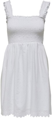 Only Trima Life Embroidered Sundress