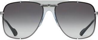 Gucci Square Aviator-Frame Sunglasses