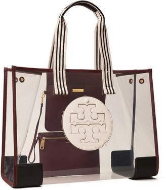 Tory Burch Ella Clear Oversized Tote Bag
