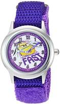 Disney Girl's 'Cars 3' Quartz Stainless Steel and Nylon Casual Watch