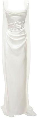 Heavy Silk Satin Dress