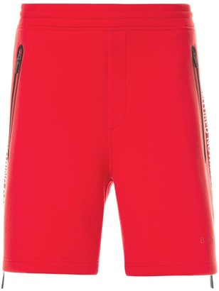 Blackbarrett Side Zip Track Shorts