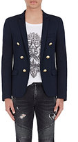 Balmain Men's Double-Breasted Open-Front Sportcoat-NAVY