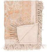 Loro Piana Printed Cashmere Throw Blanket