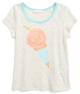 Truly Me Girl's Embellished Graphic Tee