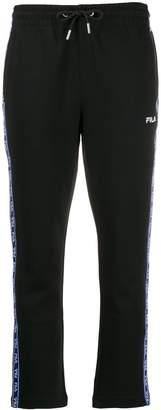 Fila logo stripe track pants
