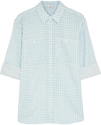 Joie Lidelle Gingham Cotton Shirt