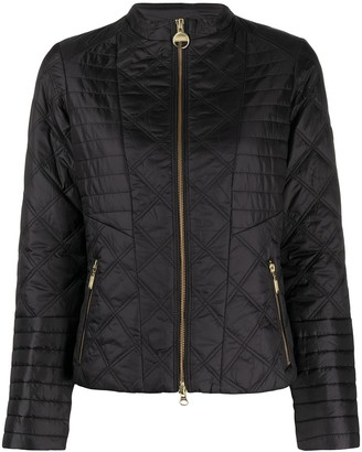 Barbour zipped-up jacket