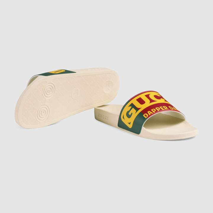 Gucci Men's Dapper Dan slide sandal