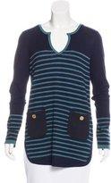 Tory Burch Wool Striped Sweater