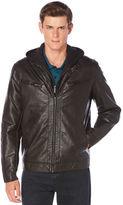 Perry Ellis Bomber Jacket w/ Removable Hood