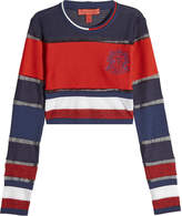 Tommy Hilfiger Cropped Top in Stripes