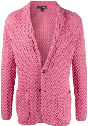 Lardini Textured Knit Blazer