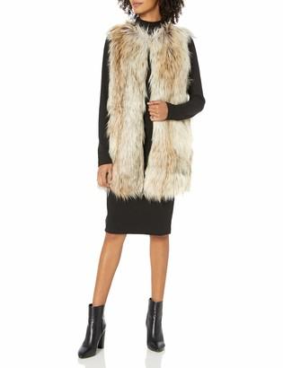 BB Dakota Junior's Ther ADO Long Faux Fur Vest