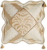 "Sweet Dreams Meriemont Scalloped Pillow with Corner Tassels, 18""Sq."