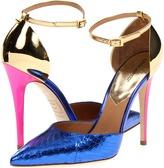DSquared DSQUARED2 - S13A503320 33 Trish Ayers Laminato Pump (Cobalto) - Footwear