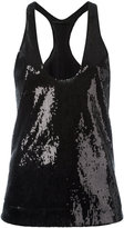 Haider Ackermann sequin tank top - women - Silk/Polyester - 34