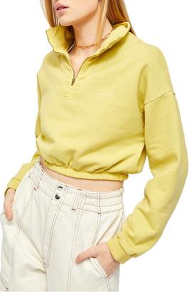 BDG Popper Crop Pullover