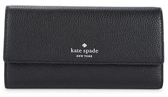 Kate Spade Sandra Leather Continental Wallet