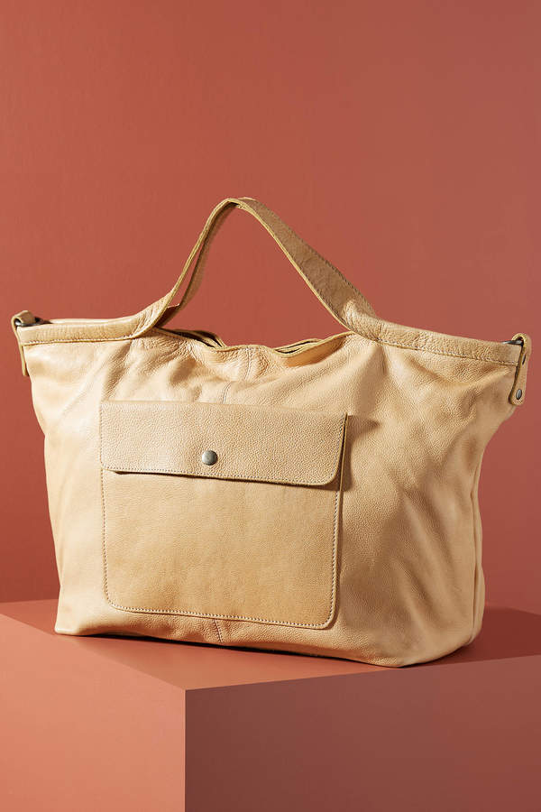 Latico Leathers Front Pocket Tote Bag