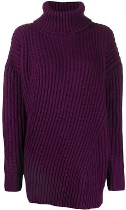 MSGM turtleneck knitted jumper