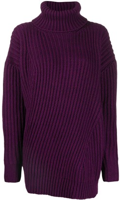 MSGM Turtleneck Knitted Jumper