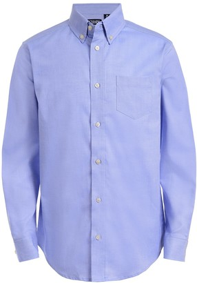 Chaps Boys 4-20 Long Sleeve Stretch Oxford