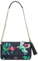 Kate Spade Emerson Place - Hummingbird Serena Clutch - Blue