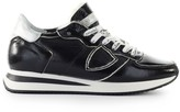 Philippe Model Trpx Black Patent Sneaker