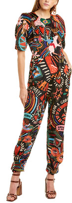 Farm Rio Winter Carnival Jumpsuit