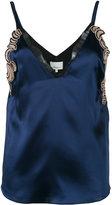 3.1 Phillip Lim lace slip cami blouse - women - Silk/Nylon/Polyamide/Polyester - 4