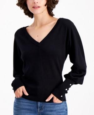 Palette Dolman-Sleeve Sweater