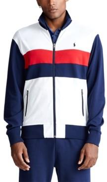 Polo Ralph Lauren Men's Big & Tall Cotton Track Jacket