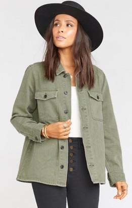 Show Me Your Mumu Army Jacket