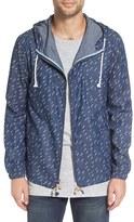 Altru Men's 'Foundry' Rain Print Chambray Jacket
