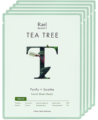 Rael Tea Tree Oil Mask 5 Pack Set