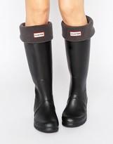Hunter Long Slate Gray Boot Sock