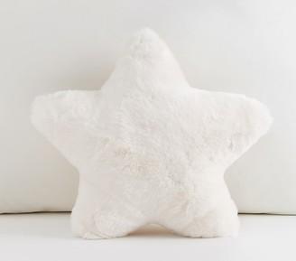 Pottery Barn Kids Fur Star Pillow