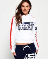 Superdry Sportswear Crop Hoodie