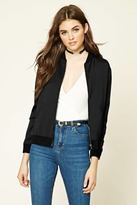 Forever 21 FOREVER 21+ Imperfectly Perfect Bomber