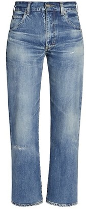 Saint Laurent 70s Cropped Jeans