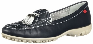Marc Joseph New York Women's Golf Genuine Leather Made in Brazil Wall Street Golf Fashion Shoe
